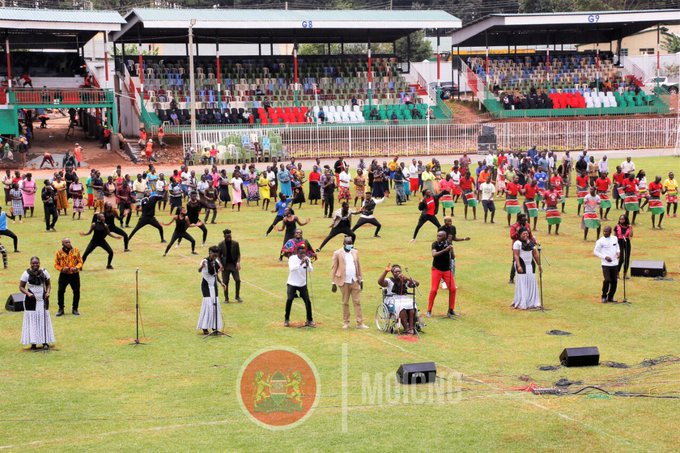 All set for Mashujaa Day Celebrations at Gusii stadium