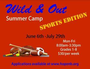 Summer camp 2016 ad