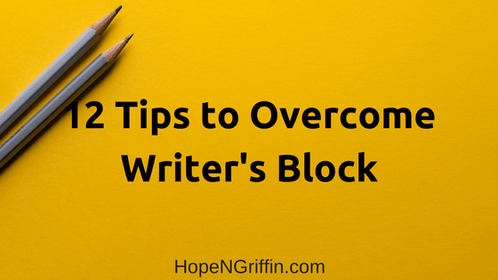 12 Tips to Overcome Writer's Block