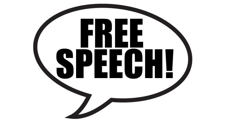 The far right don't really believe in free speech