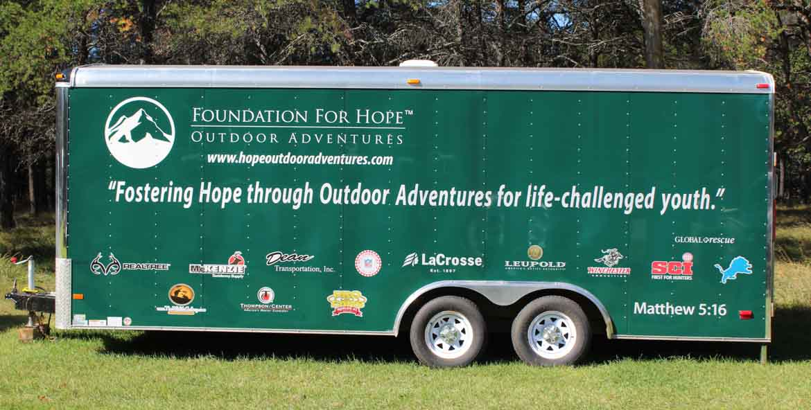 Foundation for Hope Outdoor Adventures