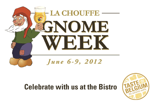 Gnome Week at Taste of Belgium