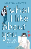 das Cover von What i like about you aus dem One Verlag