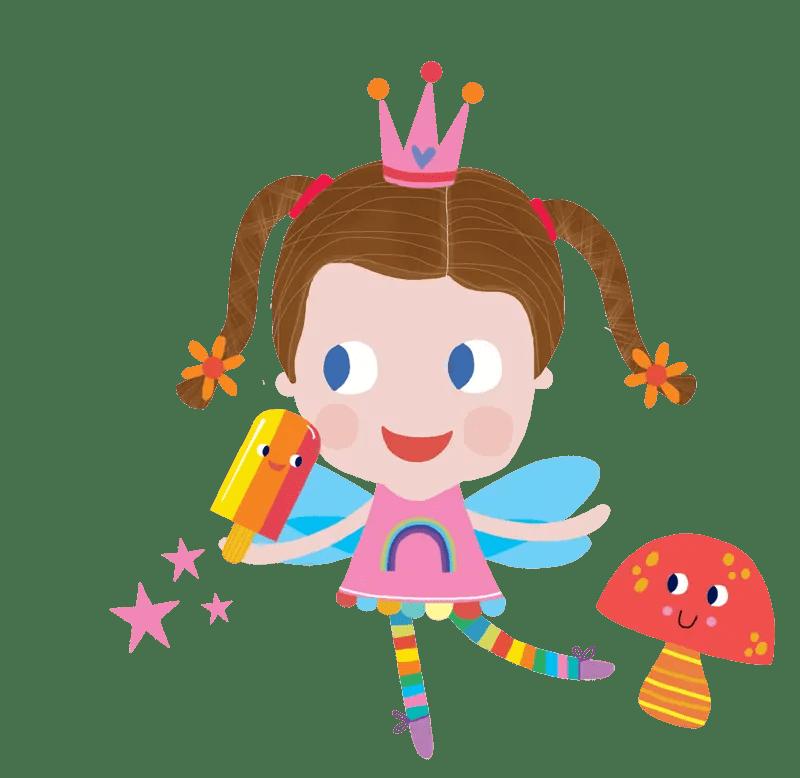 Hannah Hope as a fairy