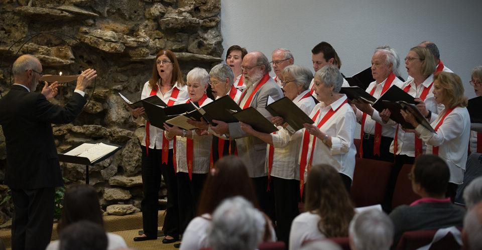 Choir April 17 2016 Installation