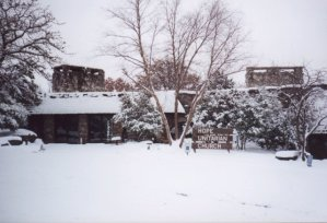 Hope Church on a snowy day