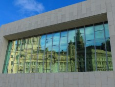CO Liver Building - reflections