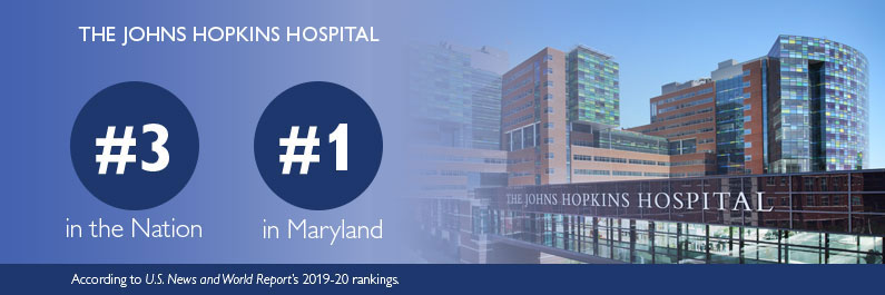 The Johns Hopkins Hospital Ranked Among the Top 3 US Adult ...