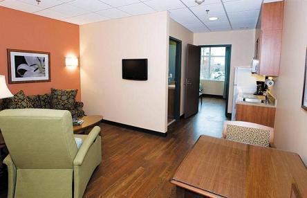 Hackerman Patz Patient And Family Pavilion Room