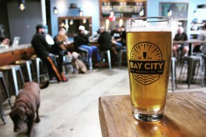 Bay City Beer in the tasting room