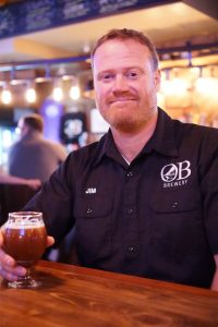 Jim Millea, Head Brewer at Ocean Beach Brewery