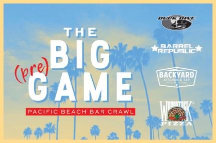 the big pre game pb bar crawl