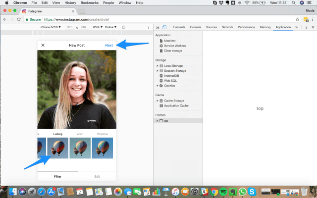 How To Post On Instagram From PC or Mac (Desktop or Laptop) In 28