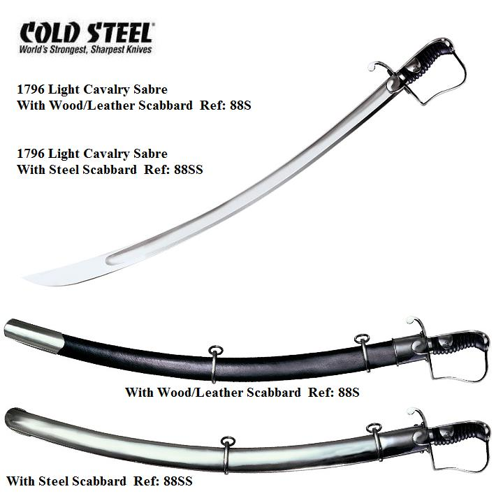 Cold Steel 1796 Light Cavalry Sabre