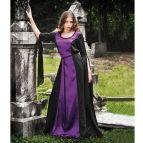 Purple and Black Gothic Dresses