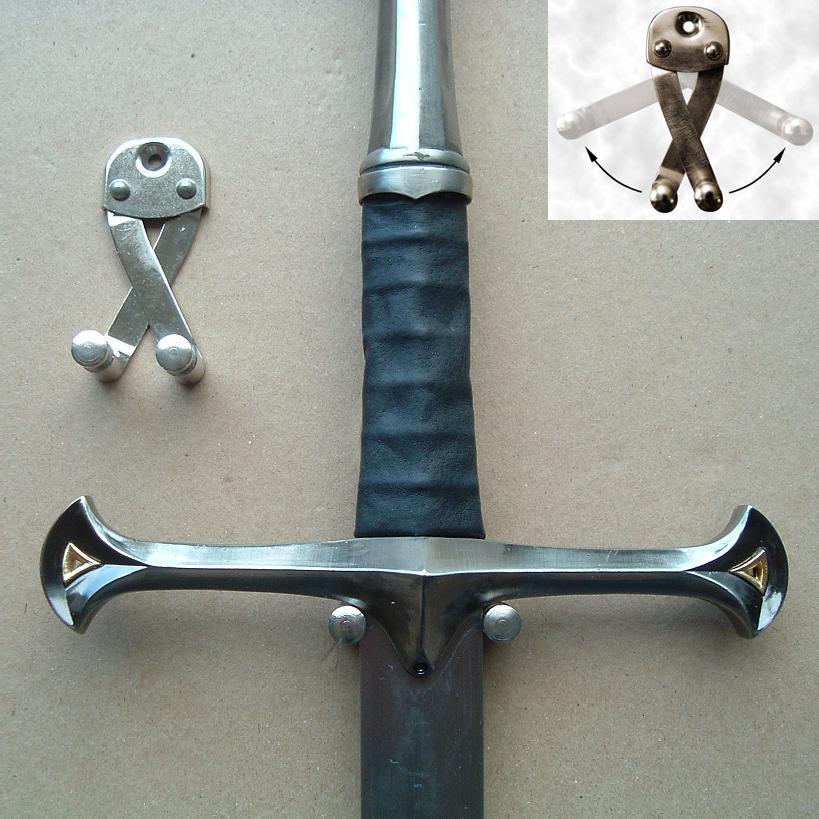 Universal Broadsword Sword Wall Hanger