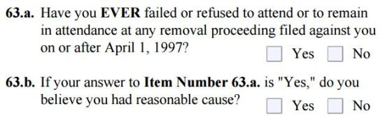 Inadmissibility Questions 3