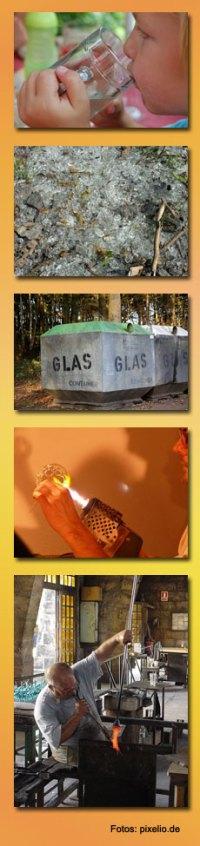 Woraus wird Glas gemacht?