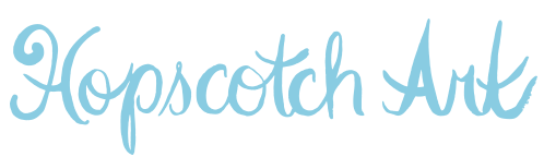 Hopscotch Art