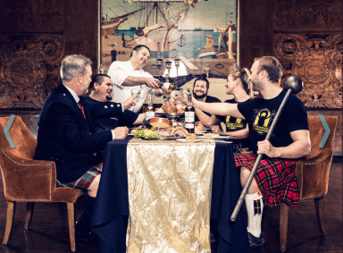 The Queen Mary, Scottish, Feast, Drink, Bands, Long beach