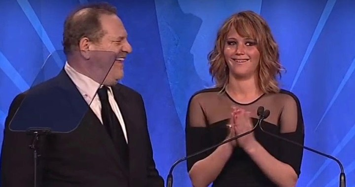 Harvey Weinstein 'se jactó de acostarse con Jennifer Lawrence' según una demandante anónima