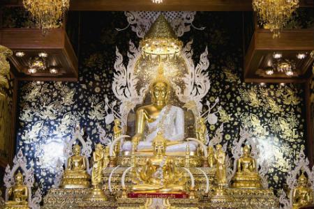 templo wat traimit Bangkok