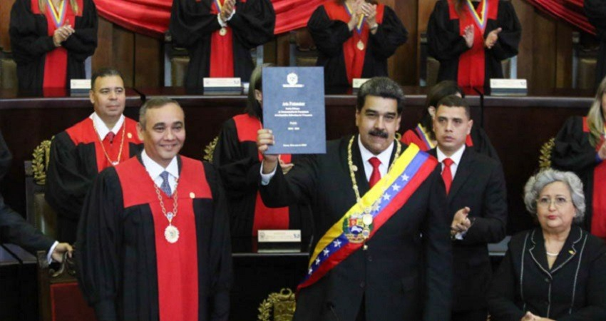 Nicolas Maduro asume el segundo mandato
