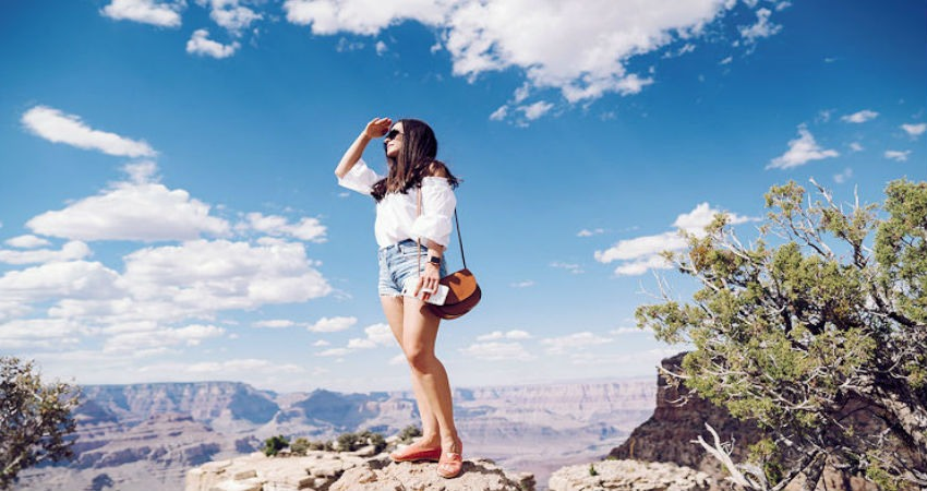 De turismo por Estados Unidos