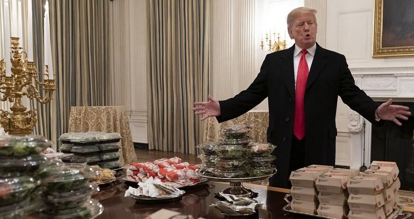 Trump es ahora uno de los 93 millones de estadounidenses obesos