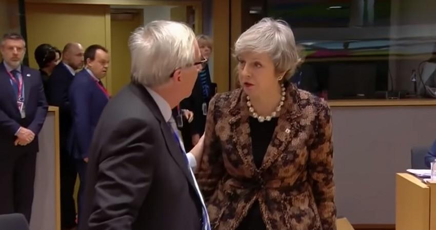 May y Juncker sellan un pacto del Brexit de ultima hora