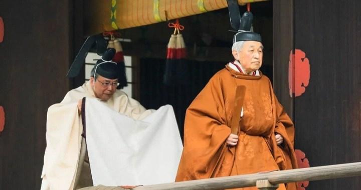 El emperador de Japón, Akihito, abdica después de 30 años en el trono