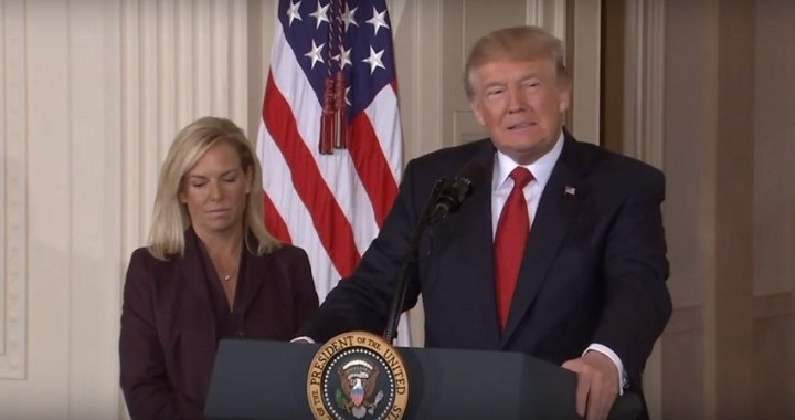 Trump anuncia la marcha de Kirstjen Nielsen, la secretaria de Seguridad Nacional