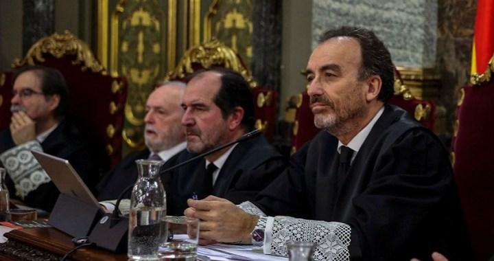 El Supremo devuelve al Congreso la decisión sobre la suspensión de los presos