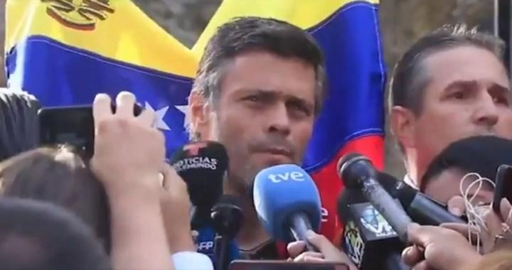 Leopoldo López afirma que «vienen más movimientos en el sector militar»