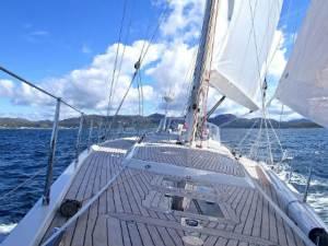 Vacaciones a bordo de un velero