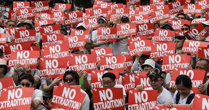 Manifestacion Hong Kong