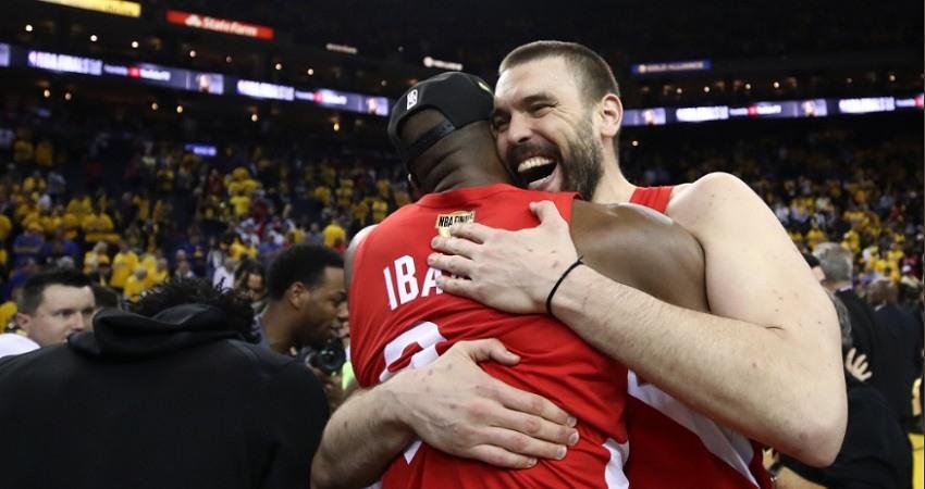 Marc Gasol e Ibaka campeones NBA