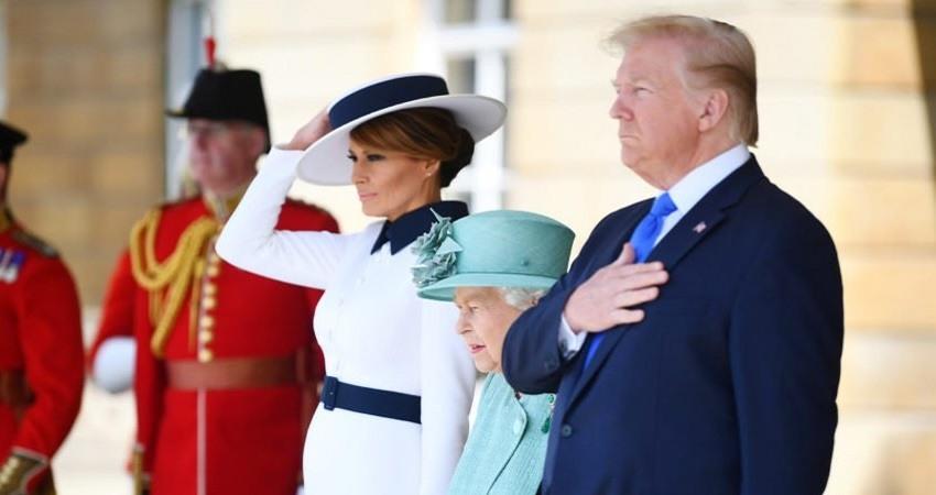 Trump visita de estado a reino unido