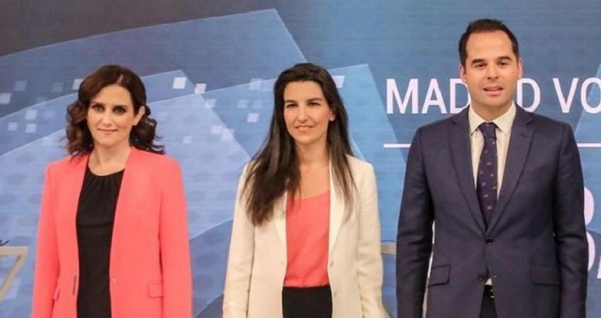 Vox anuncia preacuerdo asamblea de madrid