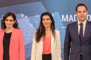 """Vox anuncia un """"preacuerdo"""" con PP y Cs para la Mesa de la Asamblea de Madrid"""