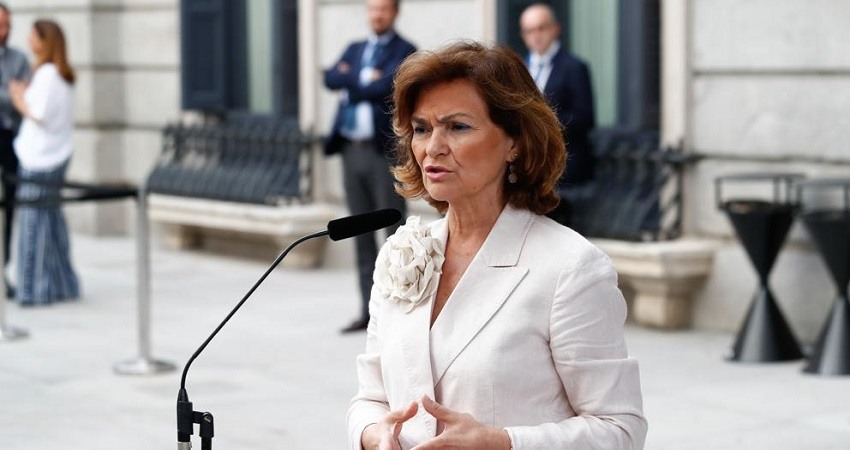 Carmen Calvo tras investidura fallida