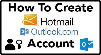 Como crear una cuenta de Outlook-Hotmail