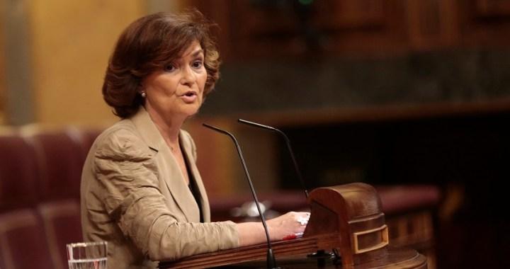 Calvo comparece en el Congreso para informar sobre la gestión migratoria