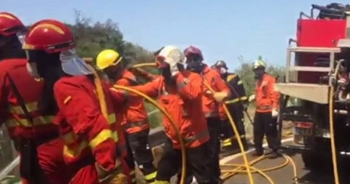 El incendio de Gran Canaria arrasa más de 10.000 hectáreas y obliga a evacuar a 9.000 personas