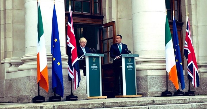 Boris Johnson dice ahora que quiere encontrar un acuerdo del Brexit