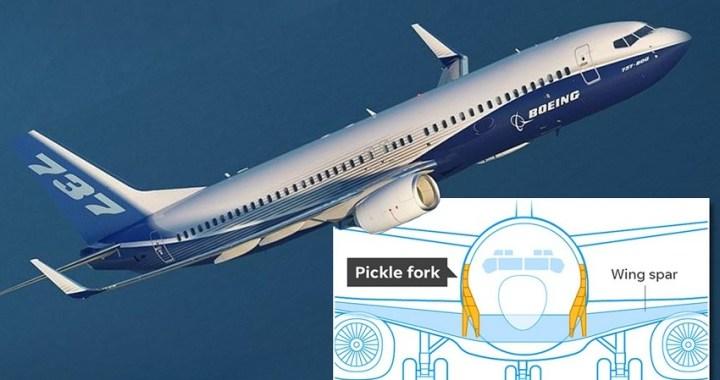 Boeing: unos 50 aviones inmovilizados por fisuras estructurales