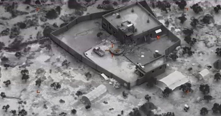 El pentágono publica las primeras imágenes del operativo en el que murió Abu Bakr al-Baghdadi