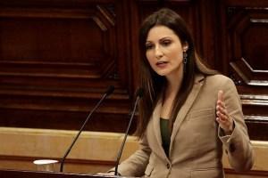 Lorena Roldán: 'Acabamos de ver a los partidos separatistas recitando el temario completo a las oposiciones a golpistas'