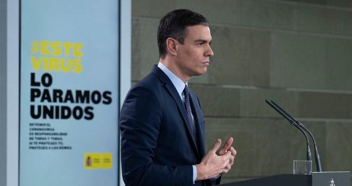 El Gobierno movilizará hasta 200.000 millones de euros, casi un 20% del PIB, para afrontar el impacto económico y social del coronavirus