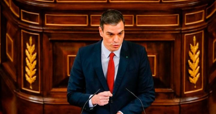 Sánchez reclama tiempo, unidad y lealtad institucional para vencer al coronavirus